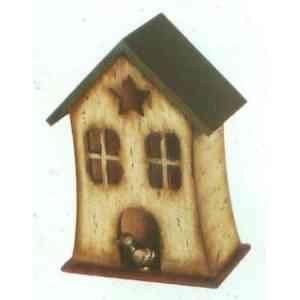 【送料無料】 GARDEN COLLECTION 【37127 ×2】 バードハウス 2個セット 210×305×130mm 0.7kg 木、レジン製