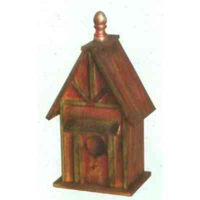 【送料無料】 GARDEN COLLECTION 【37129 ×2】 バードハウス 2個セット 205×400×140mm 0.7kg 木製