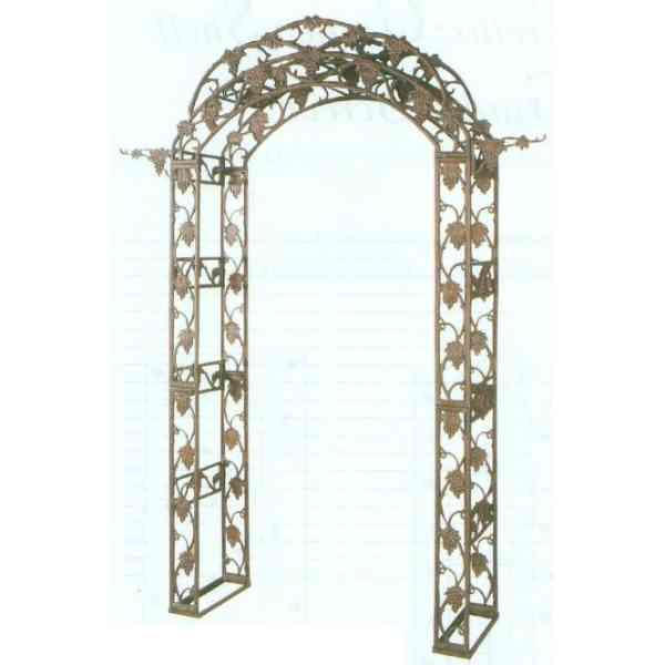 【送料無料】 GARDEN COLLECTION 【85054】 ガーデンアーチ 1170×2260×400mm 64.5kg 鉄鋳物製