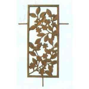 【送料無料】 GARDEN COLLECTION 【85325】 フィックスフェンス 1型 530×860×20mm 5.3kg アルミ鋳物製