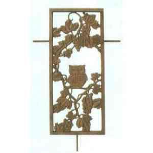 【送料無料】 GARDEN COLLECTION 【85327】 フィックスフェンス 3型 530×860×20mm 5.3kg アルミ鋳物製