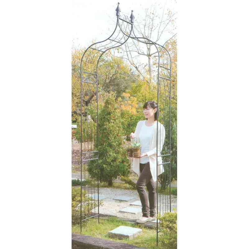 【送料無料】 GARDEN COLLECTION 【85601】 ガーデンアーチ 1120×2380×355mm 6.2kg 鉄製
