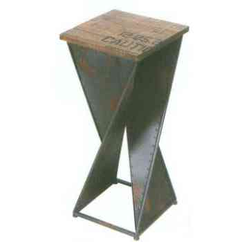【送料無料】 GARDEN COLLECTION 【86154】 フラワースタンド 310×720×310mm 3.5kg 木、鉄製