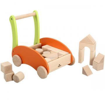 【送料無料】 UKK 【H0602】 PlayMe Toys レインボーブロックスカー 対象年齢:12ヶ月から