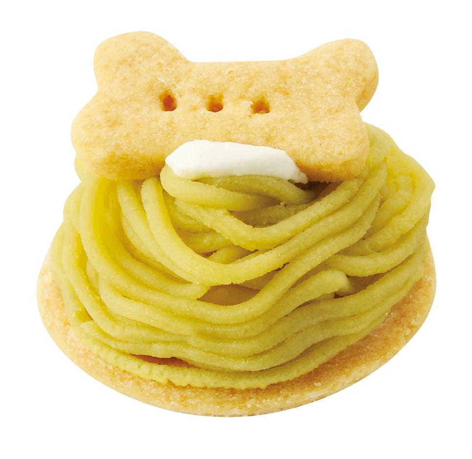 大人気 ワンちゃん用 オーガニック さつま芋モンブランタルト