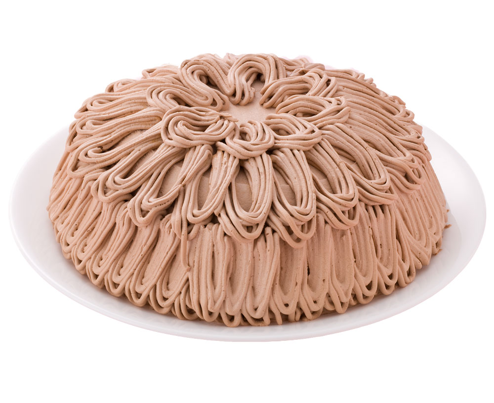 誕生日ケーキ バースデーケーキ チョコモンブラン ケーキ 7号 21.0cm 約800g