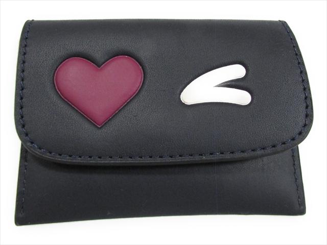 【スペシャル】コーチ カードケース ハート COACH Heart Card Pouch F11720 SVF23 SV/Midnight Multi [並行輸入品]