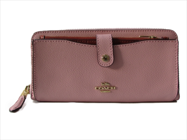 【スペシャル】[コーチ] 長財布 カラーブロック マルチ COACH COLORBLOCK MULTIFUNCTION WALLET F25967 IMN2P IM/Blush Terracotta
