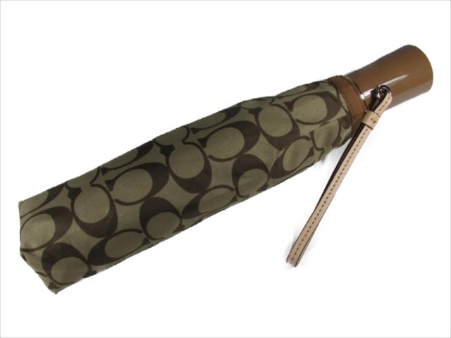 【スペシャル】[コーチ] 傘 かさ シグネチャー アンブレラ COACH Signature Umbrella F63364 SVBDX SV/BDX