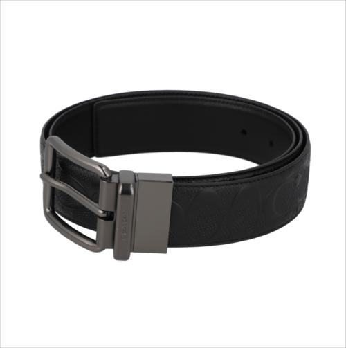 ※すぐに発送できます スペシャル コーチ いよいよ人気ブランド ベルト シグネチャー COACH Wide 返品交換不可 Cut-To-Size Belt BLK F55157 Signature Harness