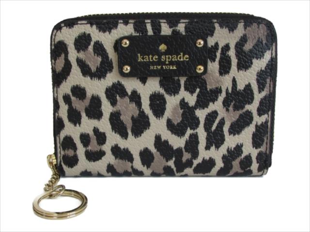 【スペシャル】[ケイトスペード] 財布 ダニ グローブ ストリート kate spade Dani WLRU5015 Grove Street Leopard blackmulti