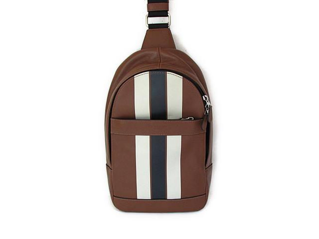 【スペシャル】Coach コーチ バックパック チャールズ パック バーシティ レザー 72226 ダークサドル/ミッドナイト【新品】COACH バッグ Charles Pack Varsity Leather (Style F72226 L5E) Dark Saddle/Midnight