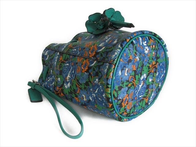 スペシャル コーチ バッグ ローズ メドゥ COACH Rose Meadow Print Wristlet F57600 SVBLM SV Blue multi並行輸入品bfgyIY7vm6
