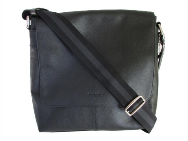 【スペシャル】[コーチ] 斜め掛けバッグ チャールズ スモール メッセンジャー COACH Charles Small Messenger Leather F28576 NIBLK NI/Black [並行輸入品]