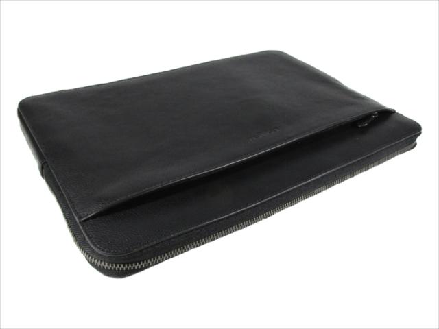 【スペシャル】 Black BK QB/ COACH 15 Laptop Case F39816 QB/ ブリーフケースラップトップ ビジネス ケース [コーチ]