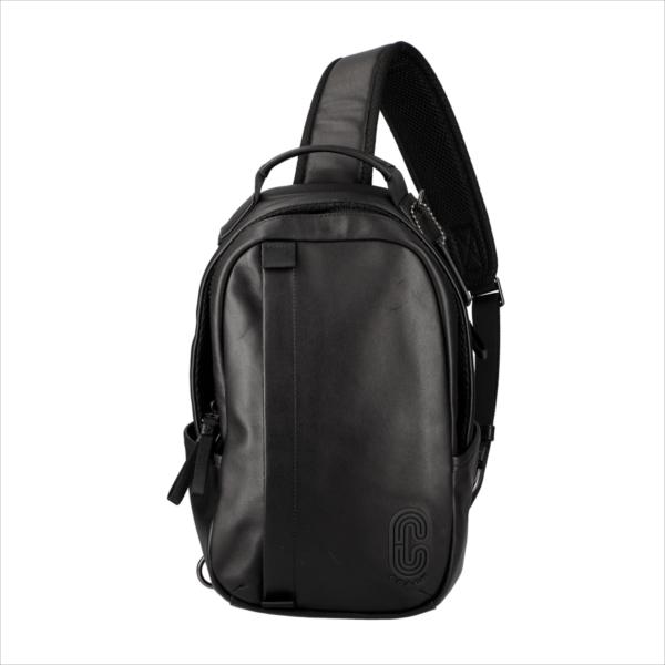 【スペシャル】[コーチ] バックパック エッジパック COACH Edge Pack Smooth Leather 89908 QB/BK QB/Black