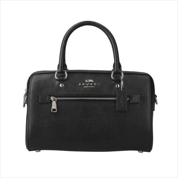 【スペシャル】[コーチ] バッグ ローワン COACH Leather Rowan Satchel F79946 SV/BK SV/Black