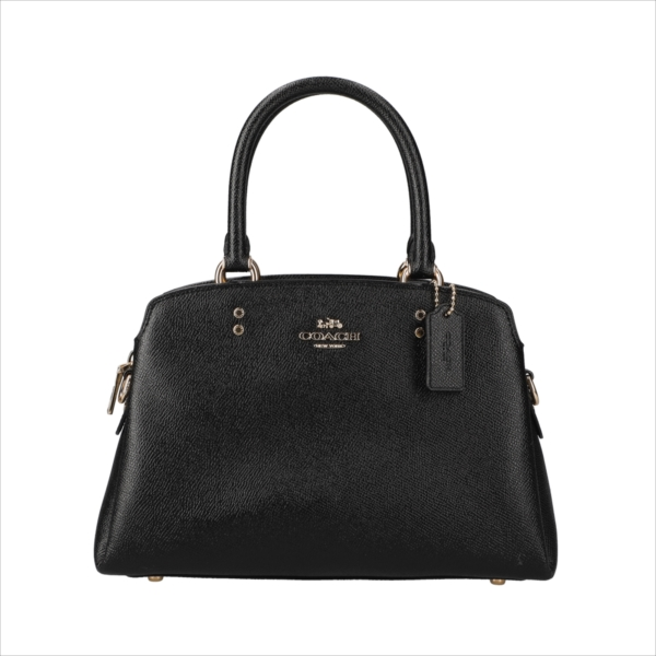 【スペシャル】[コーチ] バッグ ミニ リリー COACH Crossgrain Leather Mini Lillie Carryall 91146 IMBLK IM/Black