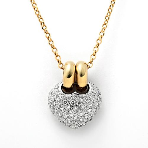 K18 ダイヤモンド 1.45ct ネックレス