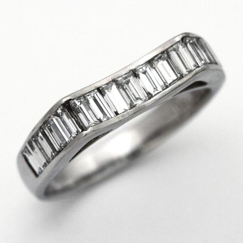 プラチナ ダイヤモンド 0.91ct リング