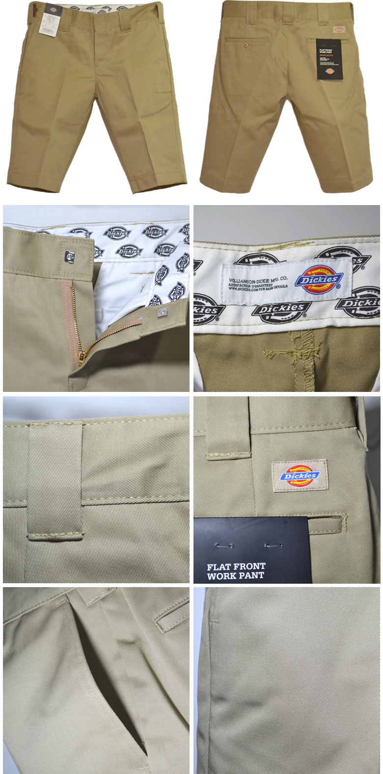 Dickies WD874H5 Japan planning lowridswork 5-minute-length pants shorts