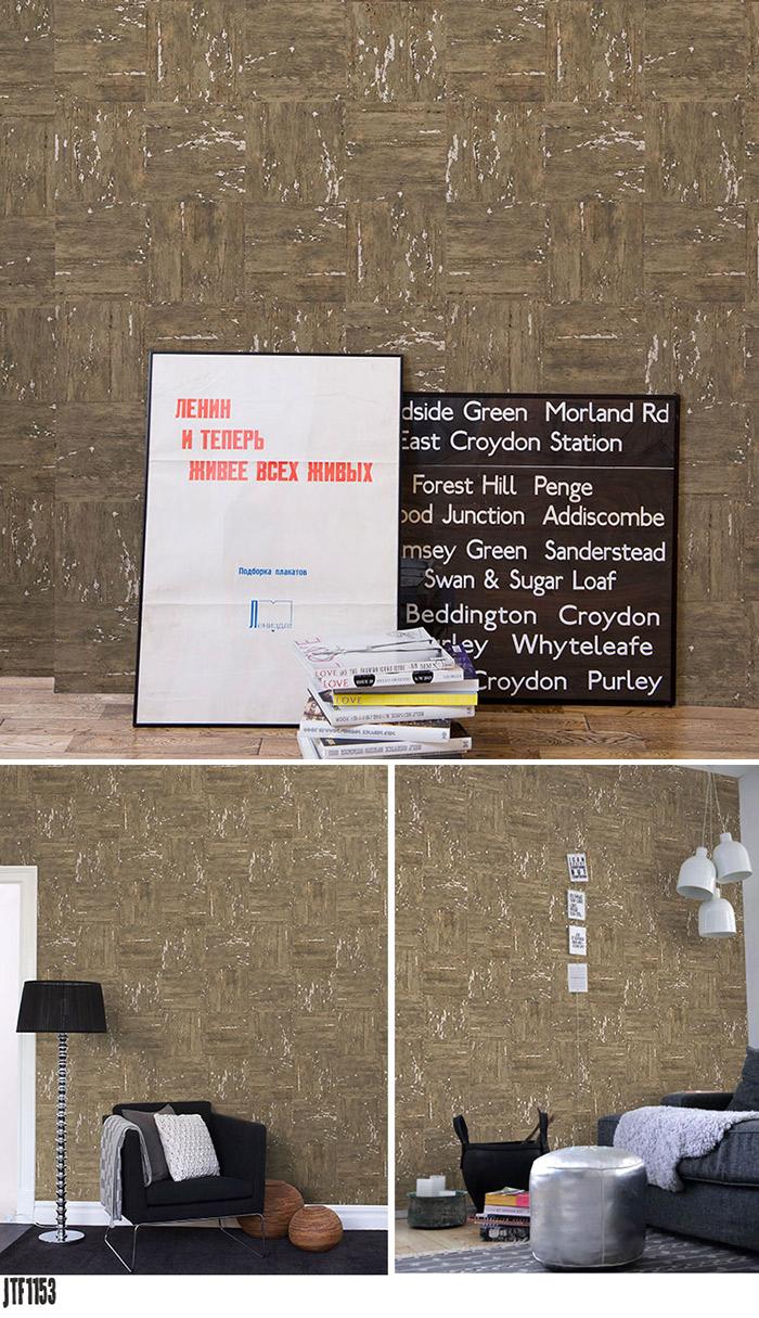 全ての 巾46cmx長さ10m Mosaic Wood Wild F取得品 Wallpaper