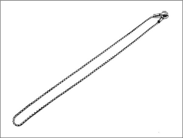 【LONE ONES ロンワンズ】ネックレスMFNH-0002M Mating Flight Hook:Medium -2.2mm BOX Chain(レナードカムホート)