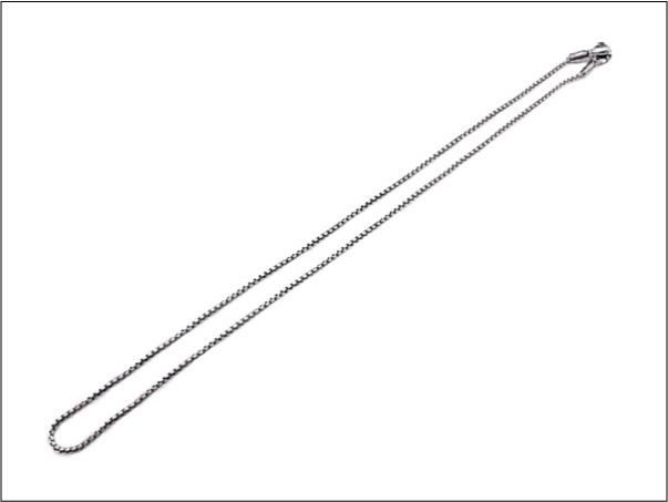 【LONE ONES ロンワンズ】ネックレスMFNH-0002S Mating Flight Hook:Small -1.8mm BOX Chain(レナードカムホート)