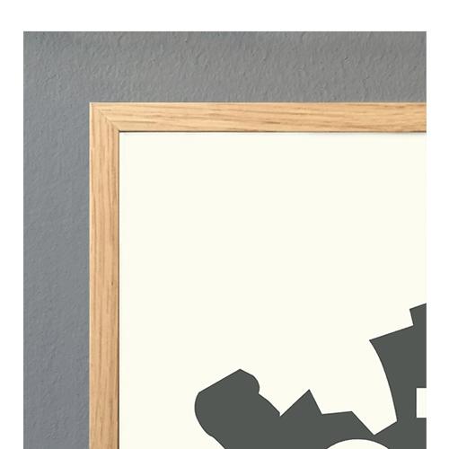 【5のつく日限定送料無料】ポスターフレーム50×70 全3色(コートカルテレット)(ペーパーコレクティブ) 【正規代理店品】【ポスター】【木製】【Kortkartellet】【北欧】【インテリア】【おしゃれ】【かわいい】【額縁】