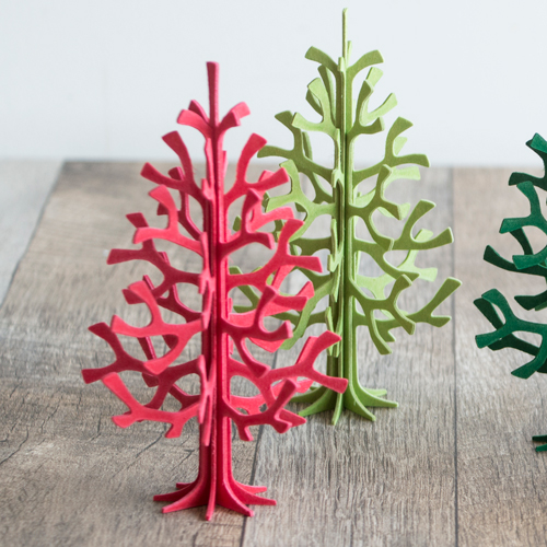 Christmas Tree Colour Schemes 2014: Red Cabin: All Lovi Christmas Tree 14cm Five Colors