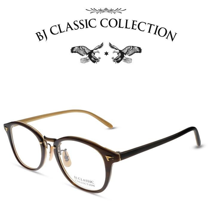 BJ 高品質新品 CLASSIC COLLECTION正規取扱店 COLLECTION COMBI COM-521 C-28-3 ダークデミ オレンジ Atゴールド 注文後の変更キャンセル返品 度付きメガネ メンズ レディース 伊達メガネ BJクラシックコレクション お取り寄せ チタン 日本製 本格眼鏡