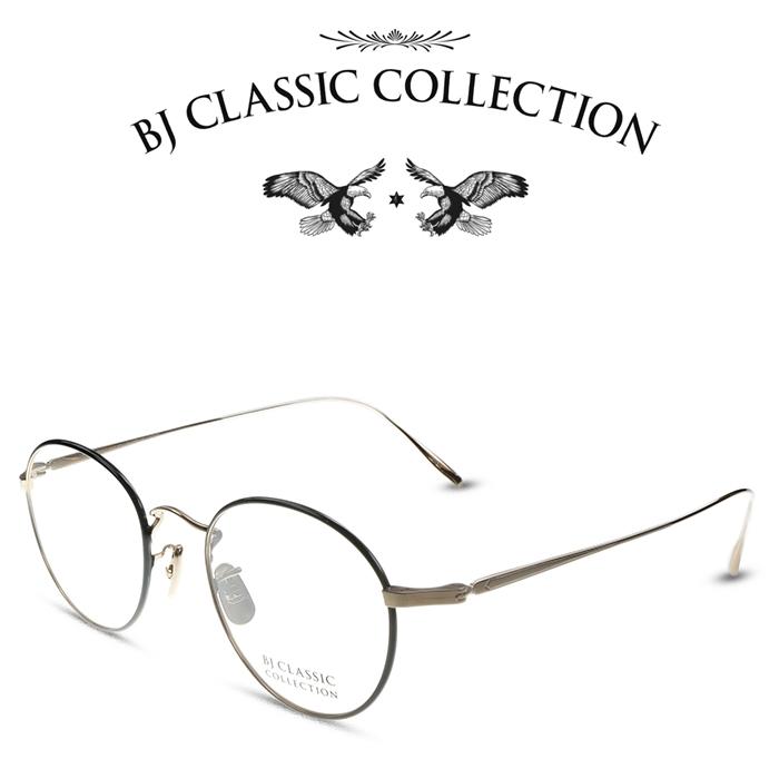 【ギフ_包装】 BJ CLASSIC COLLECTION BJクラシックコレクション PREMIUM PREM-116S NT C-1-1 ゴールド ブラック 度付きメガネ 伊達メガネ メンズ レディース プレミアム 本格眼鏡 (お取り寄せ), Unique&Basic【UBASIC】 797d4433