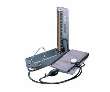 聴診器付水銀血圧計