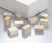 KA-0810-20 秀逸 パラフィン用木製ブロック 100入 送料無料カード決済可能 中