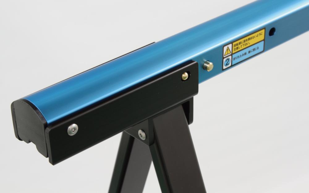 アルミ製サイクルスタンド染色カラー仕様スペースブルー(スポーツサイクル用)Sタイプ(伸縮あり)【送料込み】