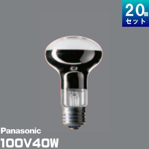 パナソニック RF100V36W/D レフ電球 40形 ホワイト 口金E26 [20個入][1個あたり185.46円]