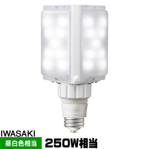 岩崎 LDFS62N-G-E39D LEDライトバルブS 水銀灯250W相当 昼白色 口金E39 LDFS62NGE39D