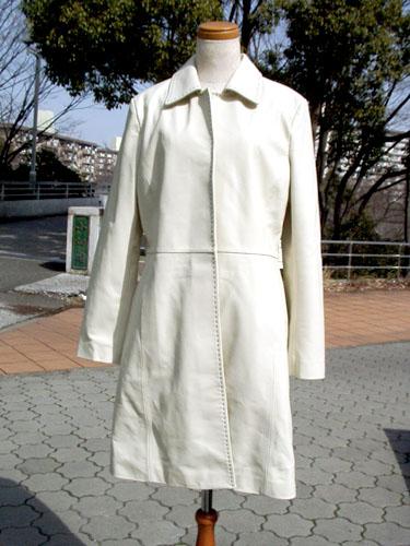 ステッチ レザーコート レディース【OFF Price】