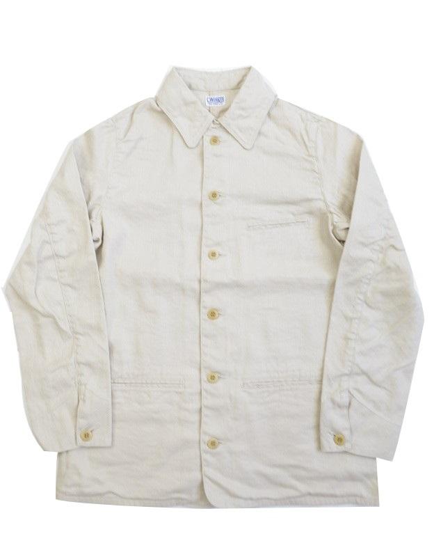 送料無料 高級 ジャケット カバーオール C-WORKS Ivory~ ギフト Linen ~Gilmer シーワークス