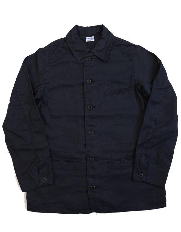 ふるさと割 送料無料 ジャケット カバーオール C-WORKS Black~ Linen 高品質 ~Gilmer シーワークス