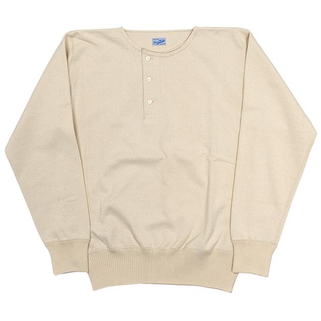 数量は多い  【送料無料】WORKERS(ワーカーズ)~Henley Neck Sweater White~, リスタコート 7f90fbe2