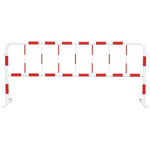 公団型バリケード 白/赤(反射) 900×2000