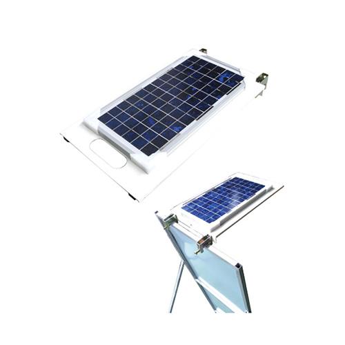 ソーラーライトプレート 550×350 無日照約5日間
