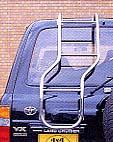 再再販 4X4エンジニアリングサービスリアラダー ベンドタイプ 代引き不可 タイムセール ランドクルーザー80
