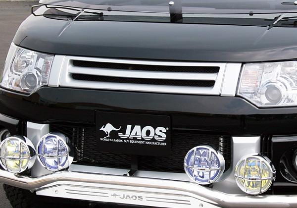 JAOS フロントスポーツグリルデリカD:5(ノーズビューカメラ付車用)