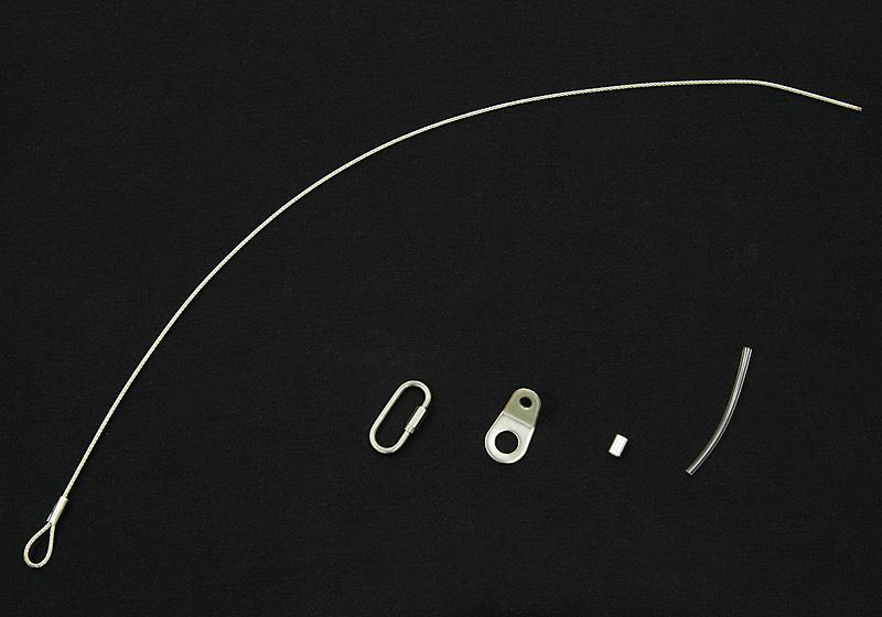 JAOS マッドガード3 補修部品 ワイヤーキット デポー 汎用品 (訳ありセール 格安)