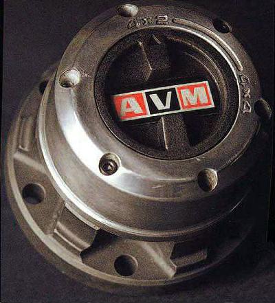 AVM・マニュアルフリーハブ(スペースギア)