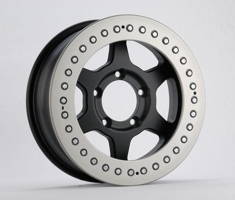 ソリッドレーシングJ metal(6.0X16 ノーマルレースリング付)