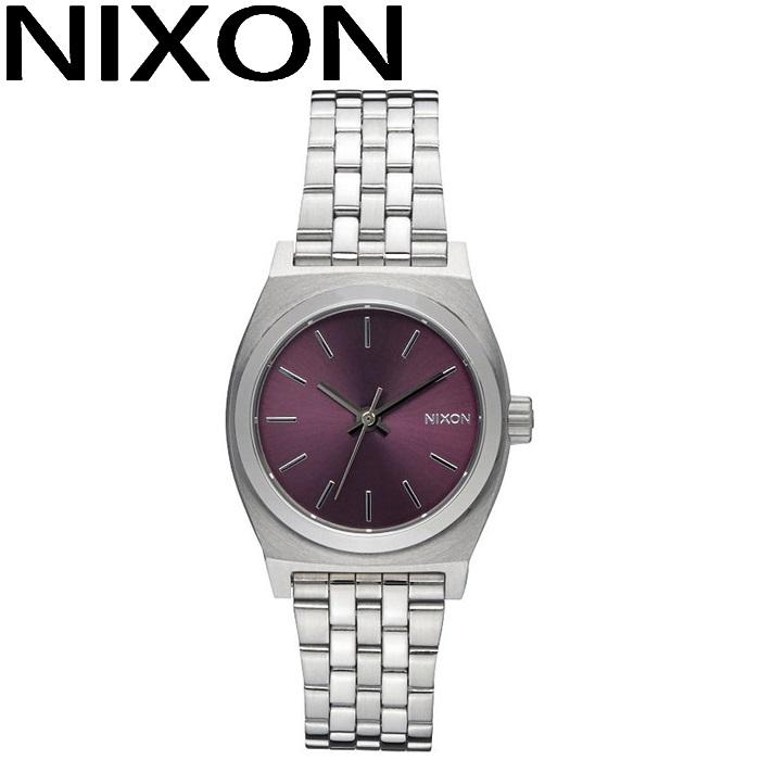 ニクソン NIXON スモールタイムテラー時計 腕時計 レディースパープル A399-2157