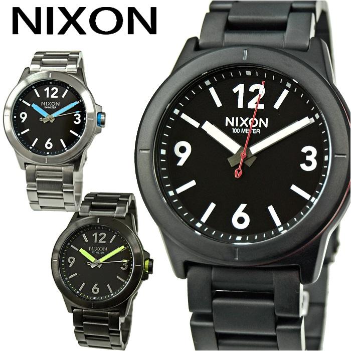 NIXON ニクソン メンズ 時計【A952001 ブラック】【A952018 ブラック×ブルー】【A952632 ガンメタル】CARDIFF(カーディフ)